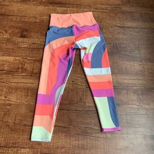 Onzie Flow multicolored M/L activewear yoga pants